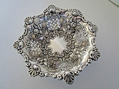 Sterling Silver Dish..Walker & Hall..Hallmarked Sheffield 1906..