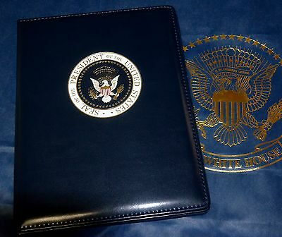 Official Presidential Seal Full-Size Portfolio~ Color Seal~White House Issue