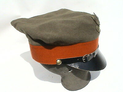Polish Old Cap Rogatywka- Military Police - Very Rare - Bargain !!!