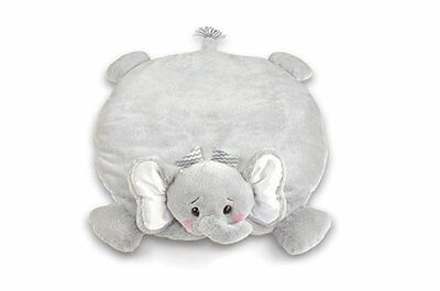 Bearington Lil Spout Stuffed Animal Elephant Baby Mat, Belly Blanket, Tummy Time