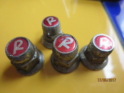 4x Raleigh Chopper Front & Back Wheel R Nuts ( See Description)