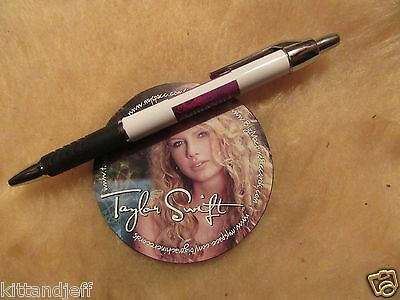 Rare Taylor Swift early career decal to promote 2006 1st album promo demo nice!