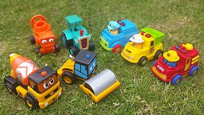 bob the builder and jcb vehicles toys
