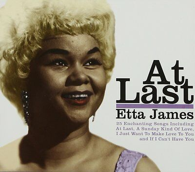 Etta James - At Last - CD - BRAND NEW SEALED - 25 HITS THE BEST OF