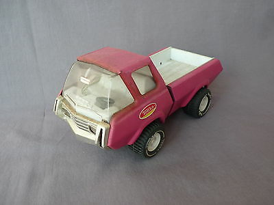 alter vintage TONKA pick up truck LKW lila purple Blech Auto tin
