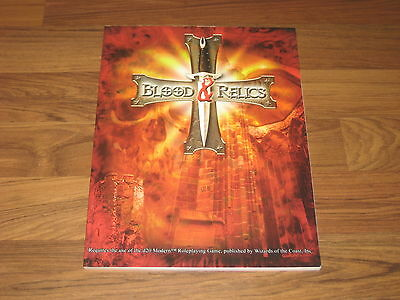 d20 modern Blood and Relics Sourcebook SC RPG Objects 2004
