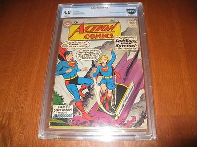 Action Comics #252  Cbcs  Universal 4.0  1St App. Of Supergirl  Huge Key