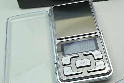 Electronic Scale LCD Display Mini and Pocket Digital 200g*0.01g  Accuracy Small