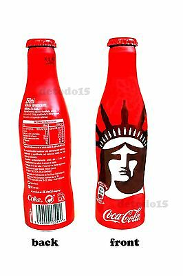 New Coke Full Bottle, New York. Limited Edition. Pleine Bouteille Cocacola (E