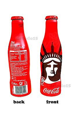 New Coke EMPTY Bottle, NEW YORK. Limited Edition. VIDE Bouteille Cocacola (E