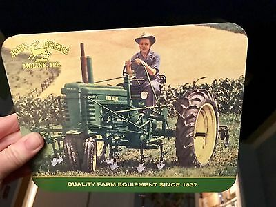 "John Deere Farm Scene 10""  Metal Trivet Or Wall Decor"