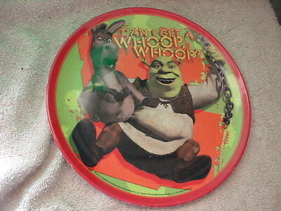 SHREK WITH DONKEY WHOOP WHOOP KIDS PLATE by ZAK DESIGNS 8 INCH FREE USA SHIPPING