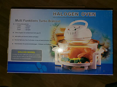 Multi Funktions HALOGEN OVEN, Ofen, Deluxe Model, 1300W