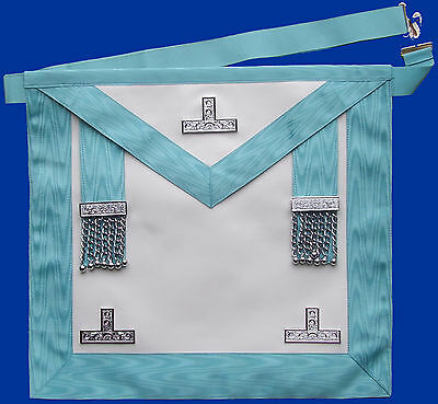 Masonic Craft PM Past Installed Master Apron Standard Quality