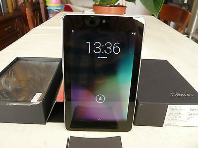 Tablet Asus Google Nexus 7 Color Negro, Muy Buena, Pantallla De 7""