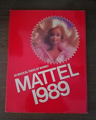 MATTEL 1989 Catalog Barbie Hot Wheels Boggins Food Fighters He-Man 163 Pages