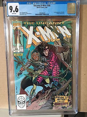 The Uncanny X-Men #266 (Aug 1990, Marvel) First Appearance Gambit CGC 9.6