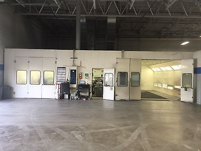 2 Garmat Down Draft Paint Booths Climate Controlled