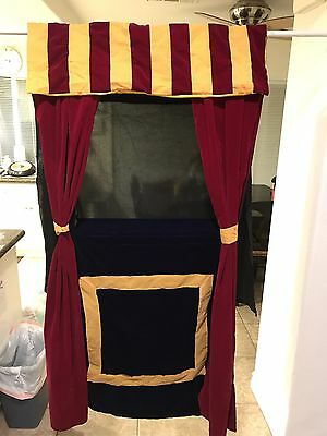 New & Used LOT Of Puppet Theatre & Puppets ~ Melissa & Doug And Land Of Nod