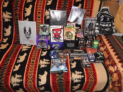 80pcs Loot Crate Lot Various Years Lootcrate Items Must See