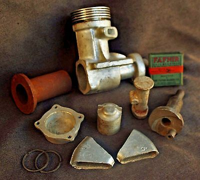 Original Hassad 60 Castings Tether Race Car Model Airplane Gas Powered Sam CL