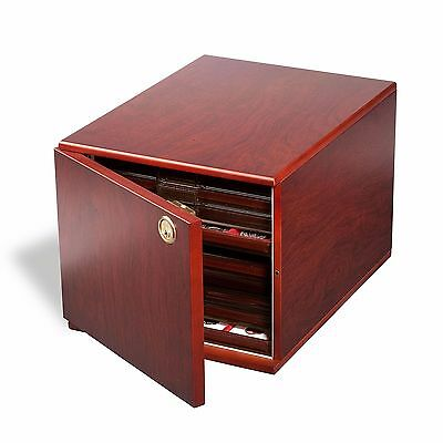 Lighthouse Coin Cabinet, Mahogany Color. Holds up to 10 Drawers. New in box.