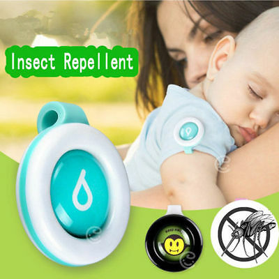 Anti mosquito Pest Insect Bugs Repellent Buckles Wristband For Baby Kids Camping