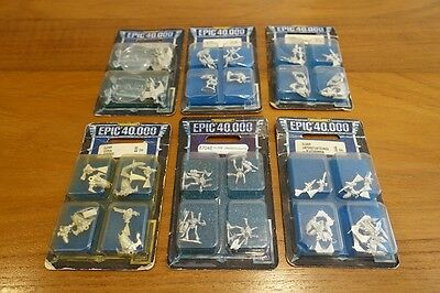 Epic 40k / Armageddon / Space Marine – Eldar Lot 2