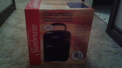 Sunbeam Personal Thermo Electric Cooler & Warmer Retro Blue