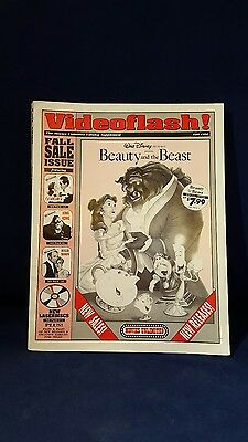 Rare Video Flash! The Movies Unlimited Catalog Beauty & The Beast Cover