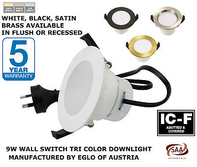 13W LED Downlight KIT TRI COLOUR - WARM, COOL, DAYLIGHT IN ONE - 7 YEAR WARRANTY