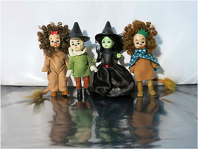 Lot of 4 Madame Alexander, Wizard of Oz Dolls, McDonald's Happy Meal Promotion