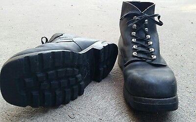 Swiss Army mountain boots