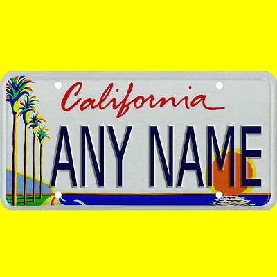 Custom All Brands Power Wheels License Plate all states, 18 months - 8 years