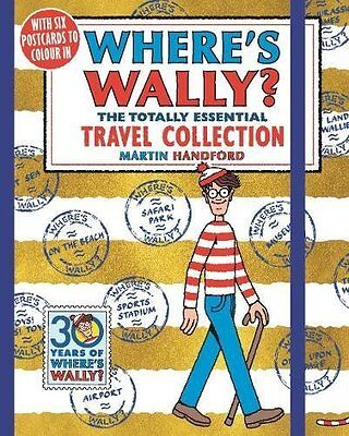 Wheres Wally? The Totally Essential Travel by Martin Handford New Paperback Book