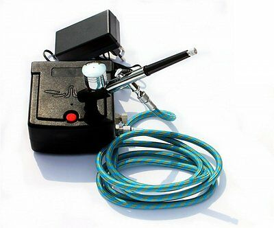 Dual Action Airbrush Compressor (Complete Kit)