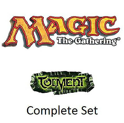 Magic - Torment Complete Set Tormento ** NM/M ** - English