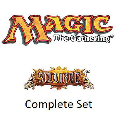 Magic - Scourge Complete Set Flagello ** NM/M ** - English