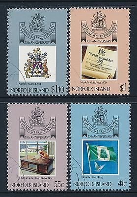 1989 Norfolk Island SELF GOVERNMENT SET OF 4 FINE USED/CTO