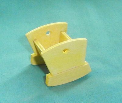 wooden dollhouse dolls cradle/Collectables/Toys