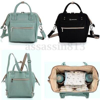 Fashion Waterproof Convertible Baby Mummy Diaper Travel Backpack Crossbody Bag