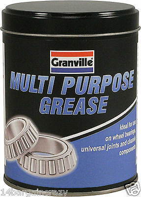 Granville Multi Purpose LM2 Lithium Grease Quality Lubricant Protects 500g Tin