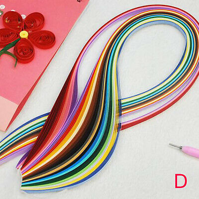 Handmade DIY Paper Quilling Rolling Tools Kit Mould Scrapbooking Paper Crafts AU
