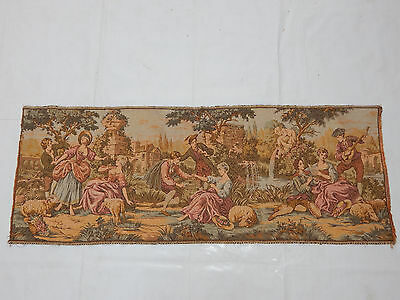 Vintage French Beautiful Scene Tapestry 136X51cm (T975)