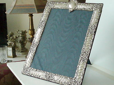 Magnificent Large And Ornate Antique Silver Picture Frame Hallmarked London 1900