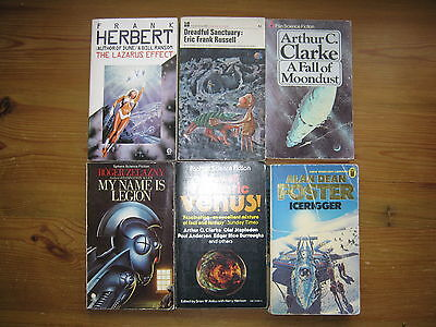 Job Lot - Collection Of 14 Science  Fiction Paperback  Books By Various Authors