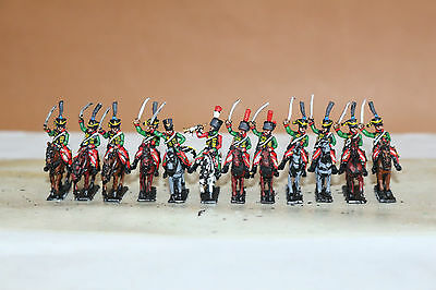 15mm Napoleonic painted French Late Hussar  Fr019w