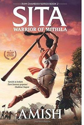Sita: Warrior Of Mithila by Amish New Paperback Book