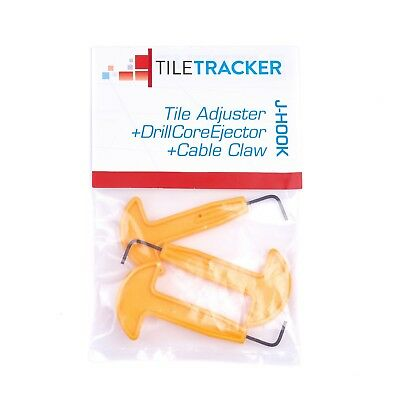 J-HOOK TRADE PACK DEAL - Tile Adjuster/Drill Core Ejector/Cable Claw pack of 3