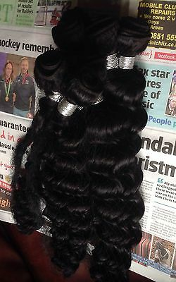 28 inches 7A 113g Brazilian Deep Wave Virgin Remy 100% HumanWeft Hair Extensions
